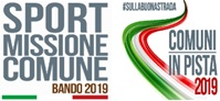 SPORT – Missione Comune 2019 e Comuni in pista 2019