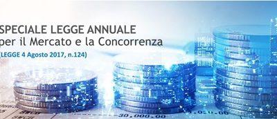 INFORMATIVA Legge annuale sulla concorrenza n. 124/2017