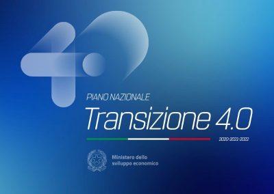 MINISTERO DELLO SVILUPPO ECONOMICO – PIANO TRANSIZIONE 4.0